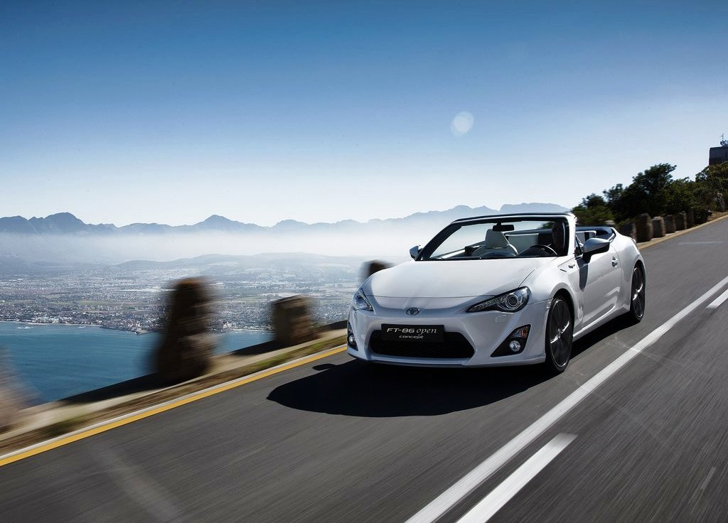 Toyota FT 86 Open (2013) Wallpaper (View 6 of 7)