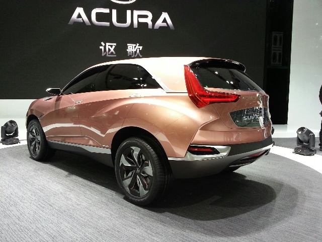 2013 Acura SUV X Exterior Design (View 3 of 5)