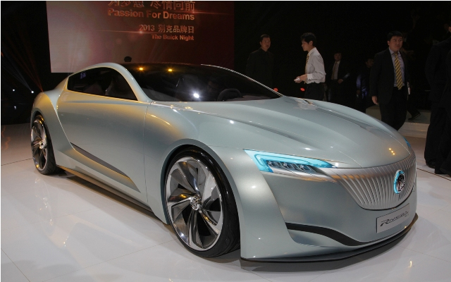 2013 Buick Riviera Concept Unveiled At Shanghai (Photo 4 of 5)