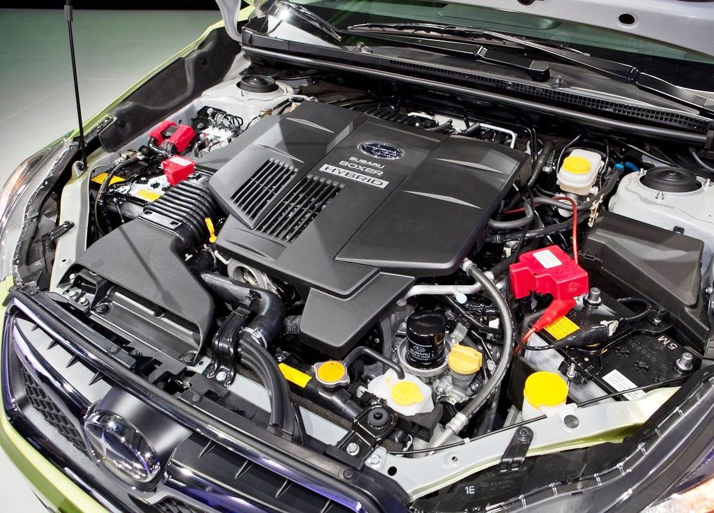 2014 Subaru XV Crosstrek Hybrid Engine (Photo 2 of 7)