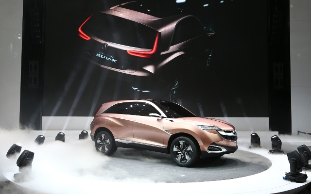 Featured Image of 2013 Acura SUV X Concept Revealed At Shanghai