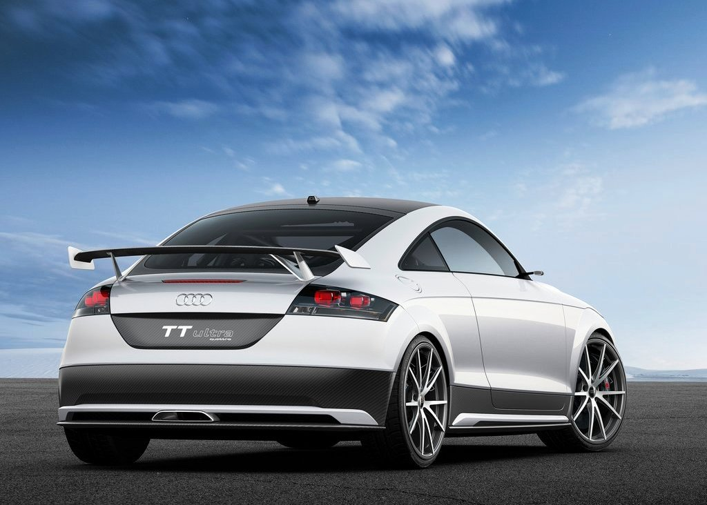 2013 Audi TT Ultra Quattro Rear View (View 5 of 8)