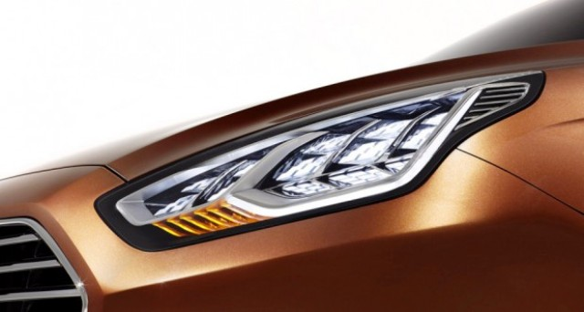 2013 Ford Escort Concept Head Lamp (Photo 2 of 7)