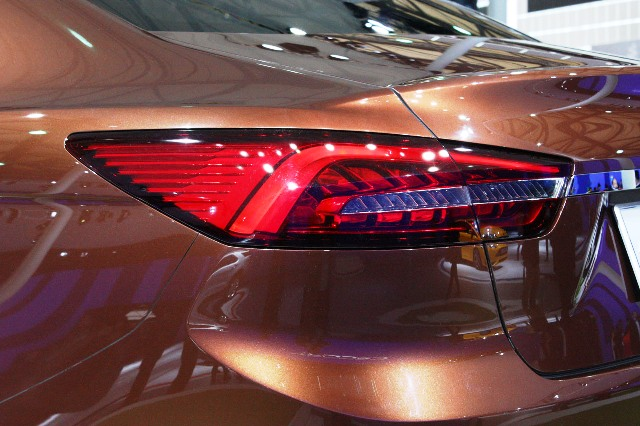 2013 Ford Escort Concept Tail Lamp (Photo 6 of 7)