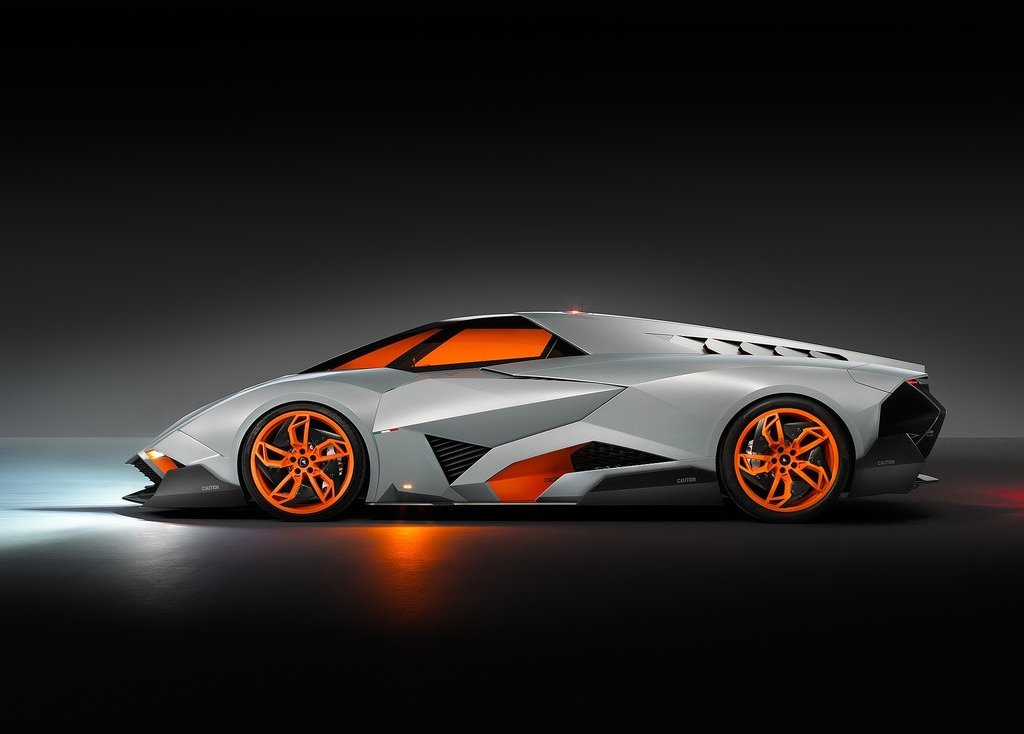 2013 Lamborghini Egoista Exterior Design (Photo 5 of 9)