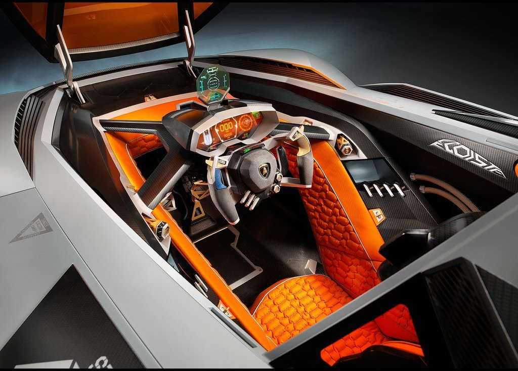 2013 Lamborghini Egoista Interior Design (Photo 6 of 9)