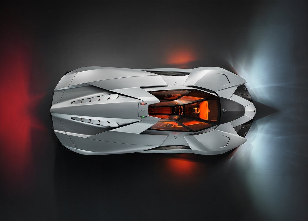 2013 Lamborghini Egoista Top View (Photo 9 of 9)