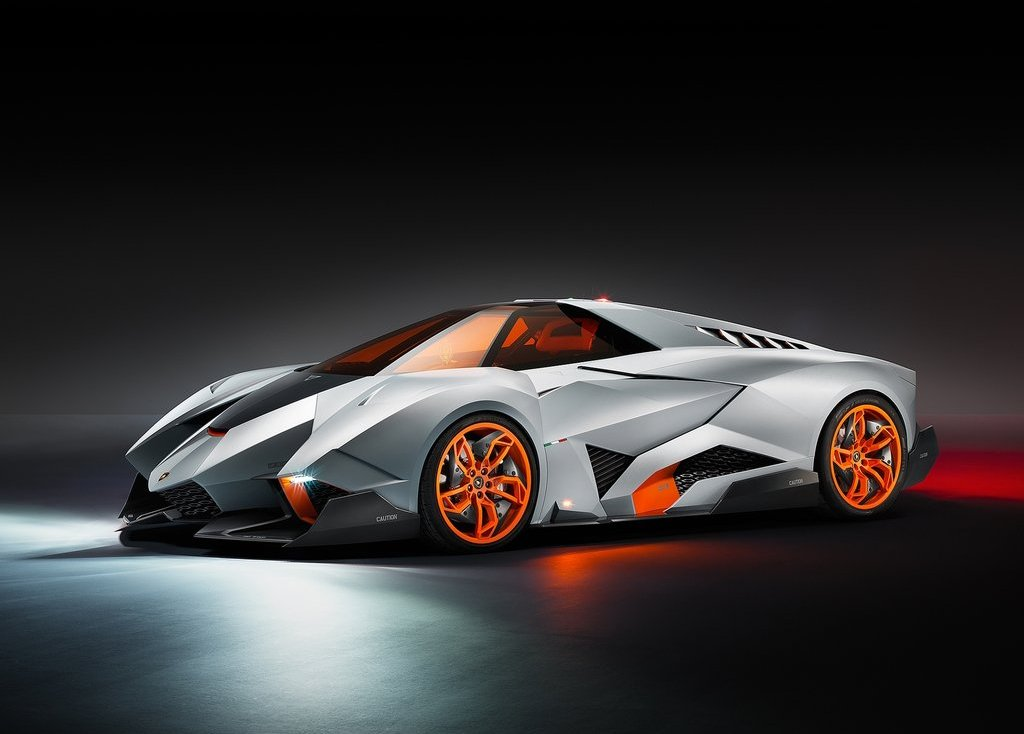 Featured Image of 2013 Lamborghini Egoista | Single Seat Supercar Concept