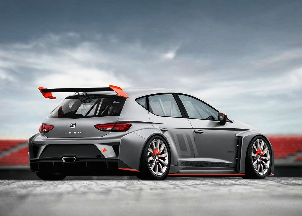 2013 Seat Leon Cup Racer Exterior Design (Photo 2 of 6)