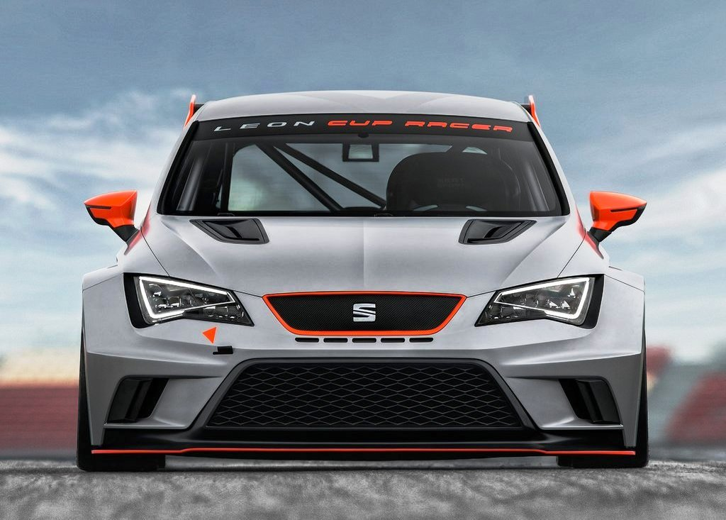 2013 Seat Leon Cup Racer Front View (Photo 3 of 6)