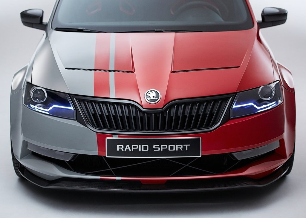 2013 Skoda Rapid Sport Grille Design (Photo 13 of 13)