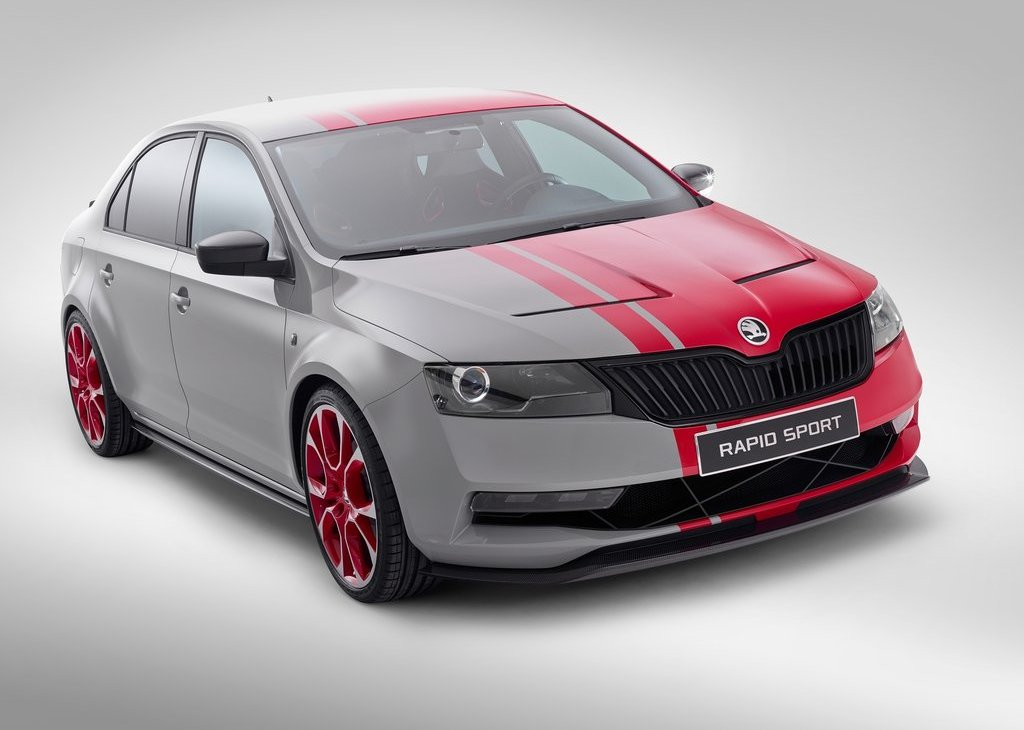 2013 Skoda Rapid Sport Concept Revealed Pictures Gallery (13 Images)