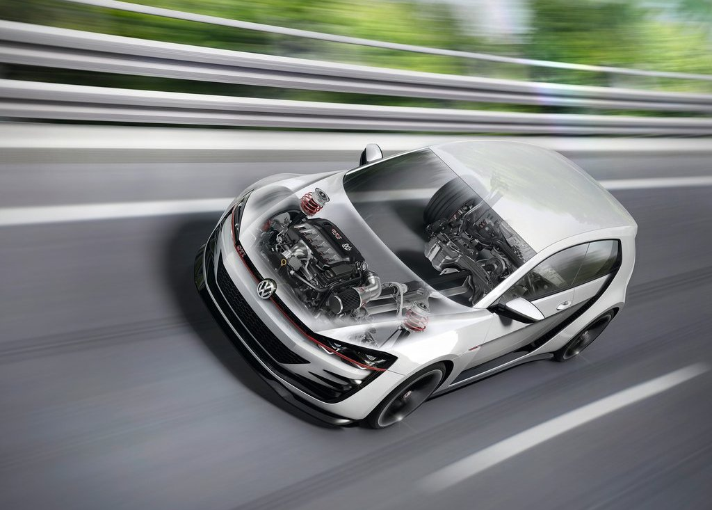 2013 Volkswagen Design Vision GTI Engine Powertrain (View 2 of 6)