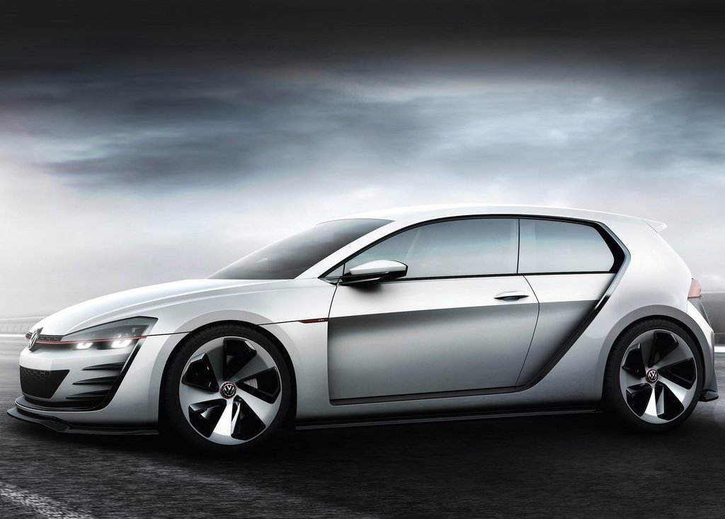 2013 Volkswagen Design Vision GTI Exterior Design (View 3 of 6)