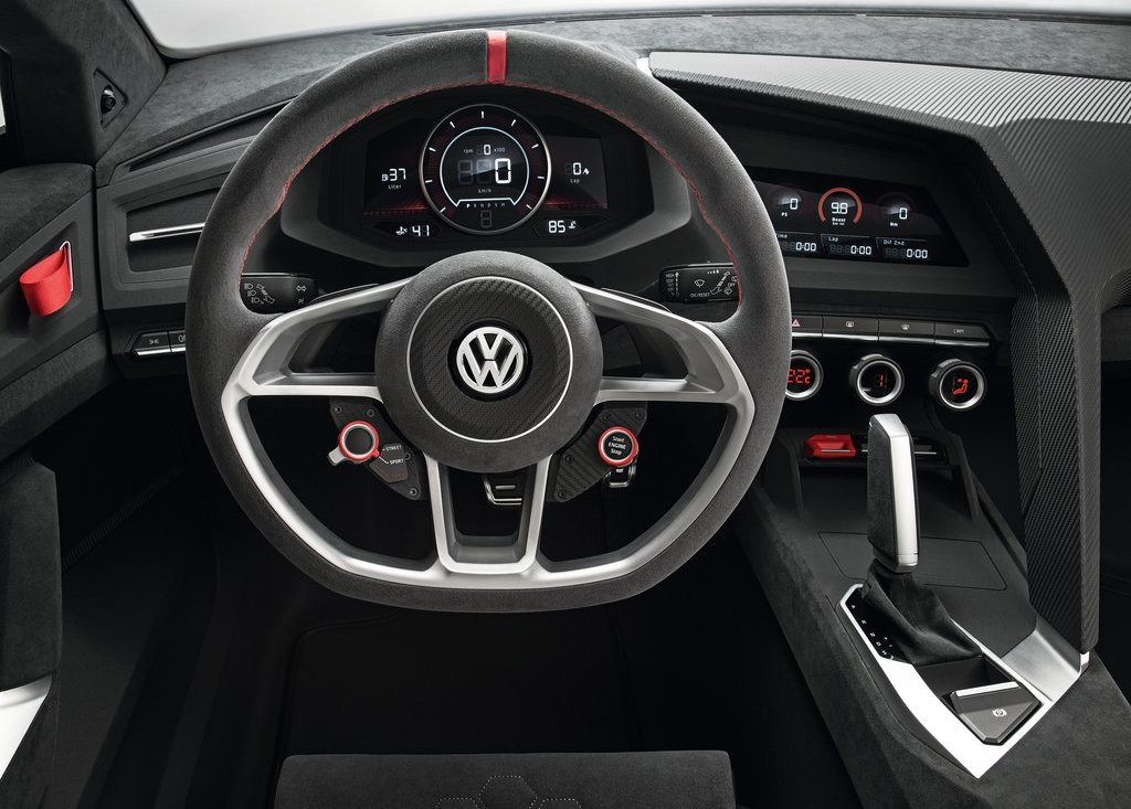 2013 Volkswagen Design Vision GTI Inside View (Photo 4 of 6)