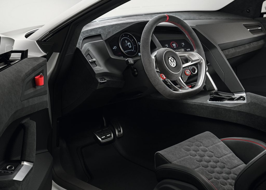 2013 Volkswagen Design Vision GTI Interior Design (Photo 5 of 6)