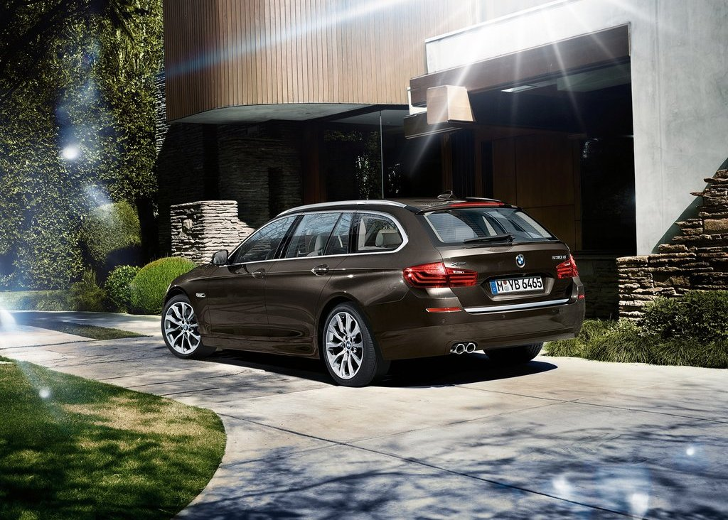 2014 BMW 5 Series Touring Exterior Design (View 3 of 9)