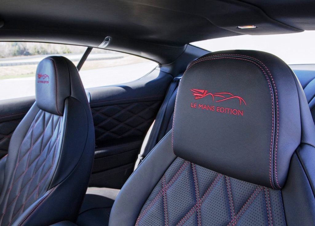 2014 Bentley Continental LeMans Edition Interior Design (Photo 5 of 9)