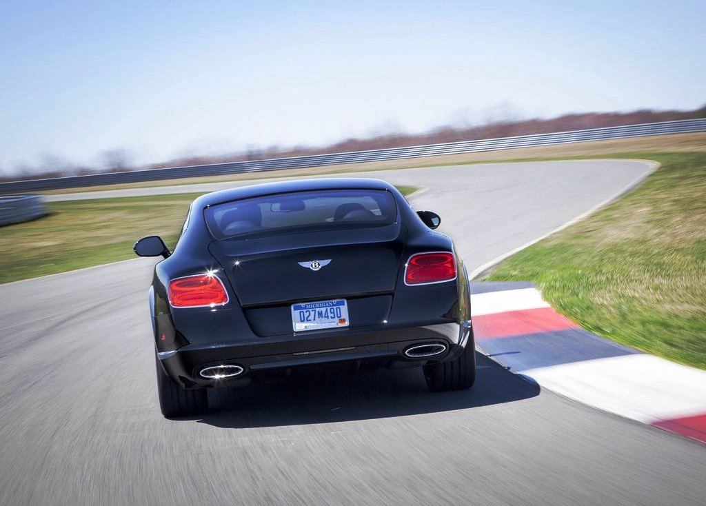 2014 Bentley Continental LeMans Edition Rear View (Photo 6 of 9)