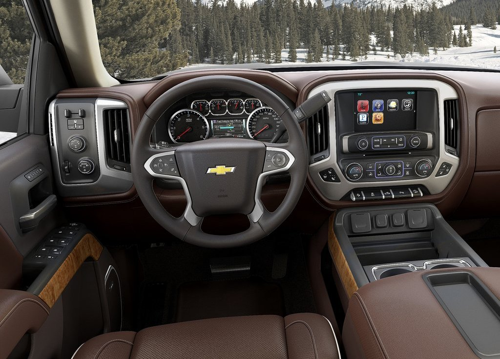 2014 Chevrolet Silverado High Country Interior Design (View 5 of 9)