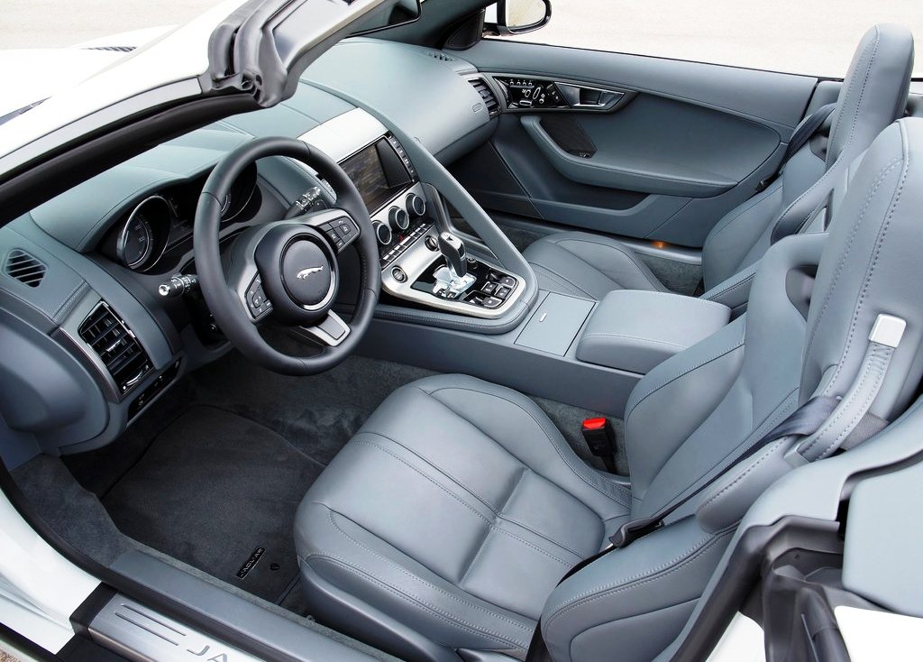 2014 Jaguar F Type V6 Interior Design (Photo 5 of 10)