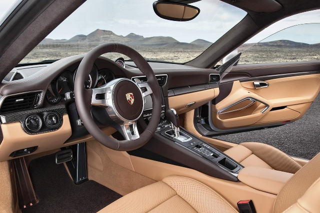 2014 Porsche 911 Turbo Interior Design (Photo 2 of 7)