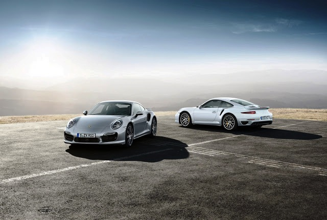 2014 Porsche 911 Turbo S And 2014 Porsche 911 Turbo (Photo 5 of 7)