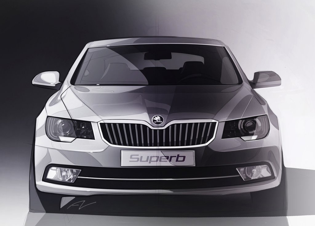 2014 Skoda Superb Concept (Photo 1 of 8)
