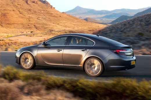 2014 Vauxhall Insignia Exterior Design (View 1 of 8)