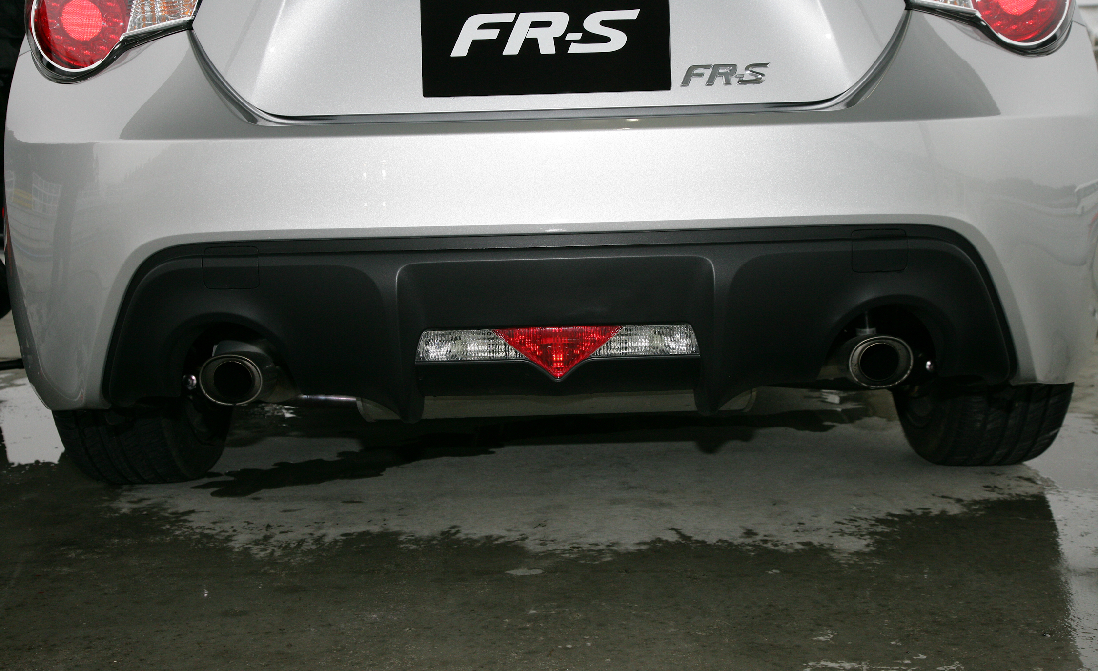 2013 Scion FR S Exterior View Rear Bumper (Photo 13 of 47)