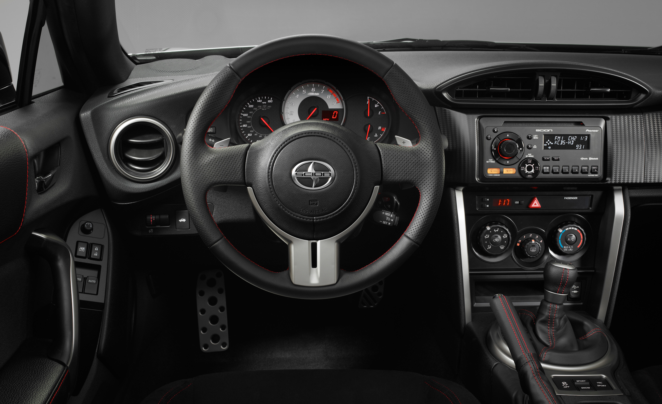 2013 Scion FR S Interior Steering And Speedometer (Photo 27 of 47)