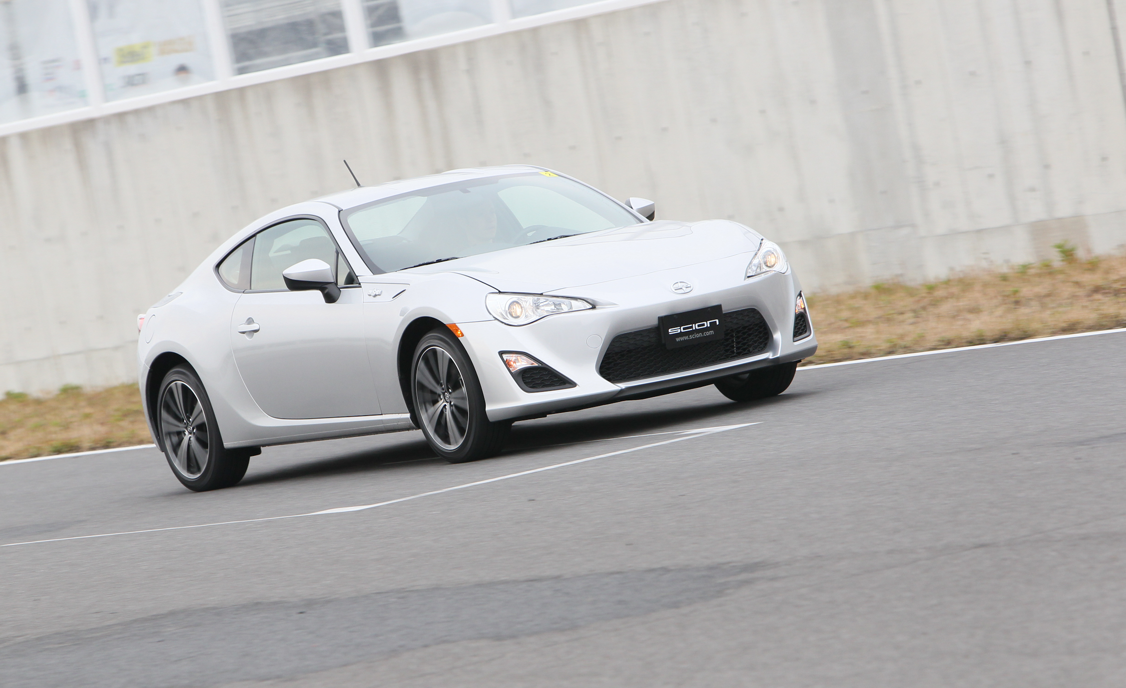 2013 Scion FR S Silver Metallic Front And Side View (Photo 33 of 47)