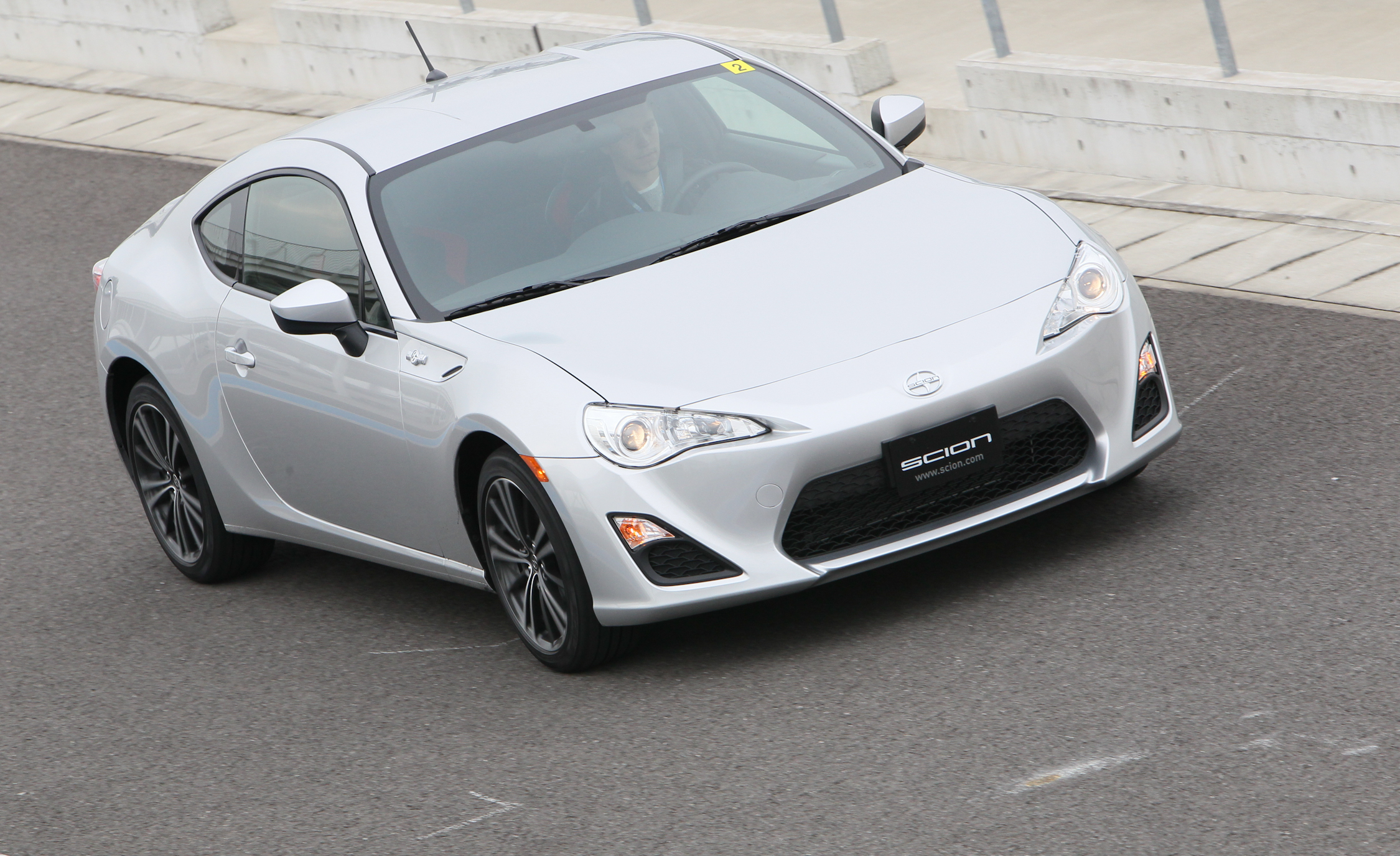 2013 Scion FR S Silver Metallic Top Front View (Photo 36 of 47)