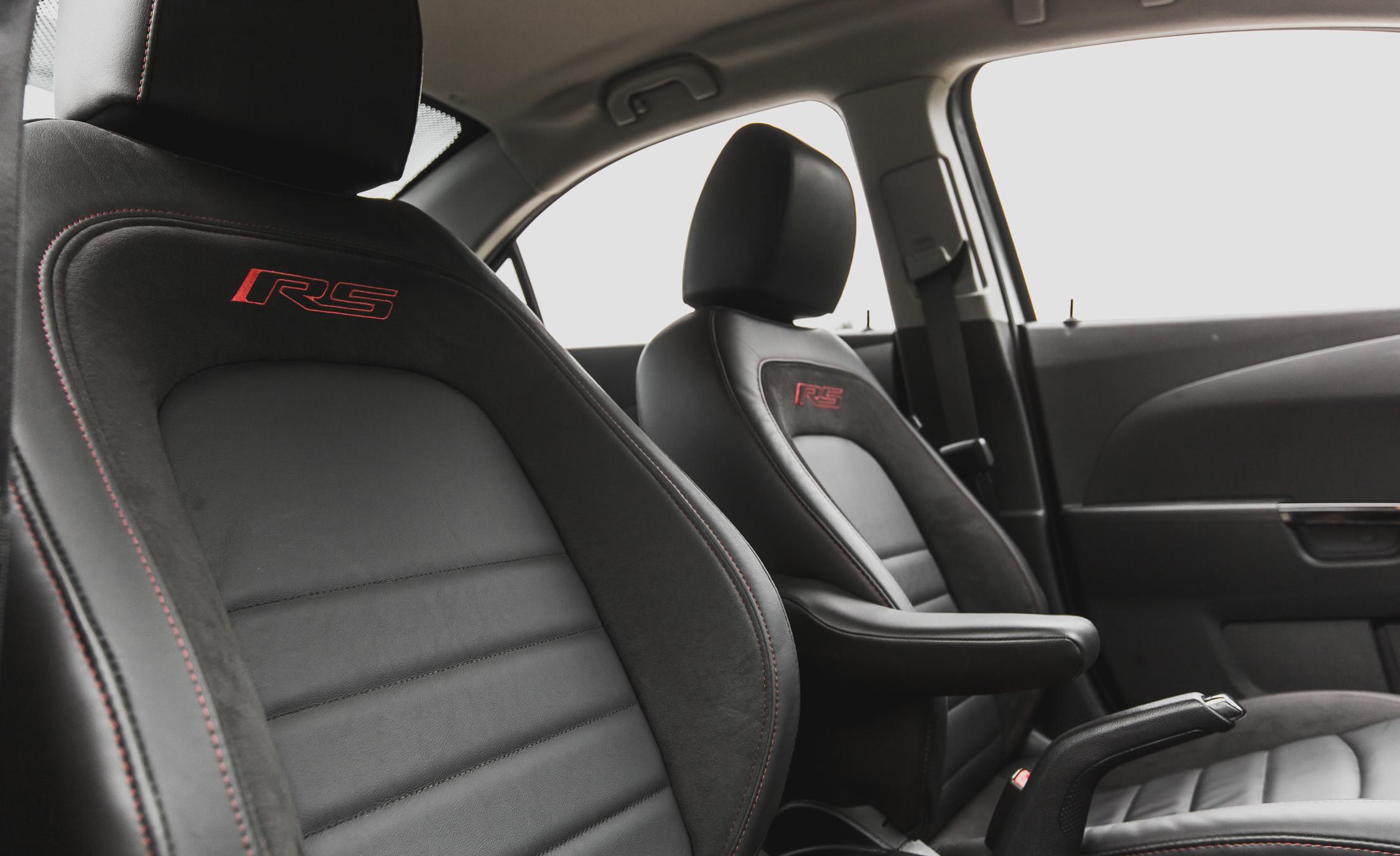 2014 Chevrolet Sonic RS Sedan Interior (View 13 of 27)