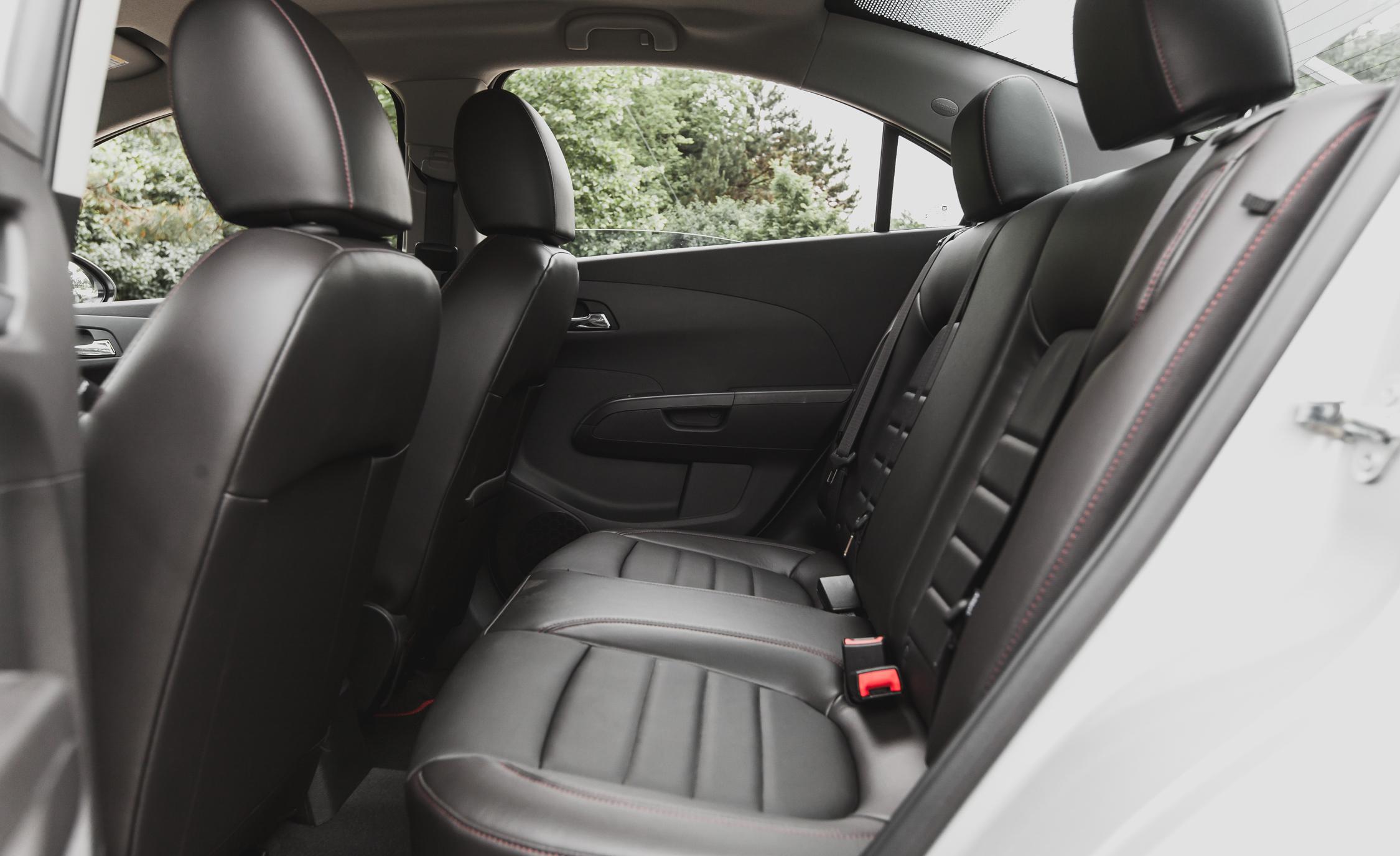 2014 Chevrolet Sonic RS Sedan Interior (View 16 of 27)