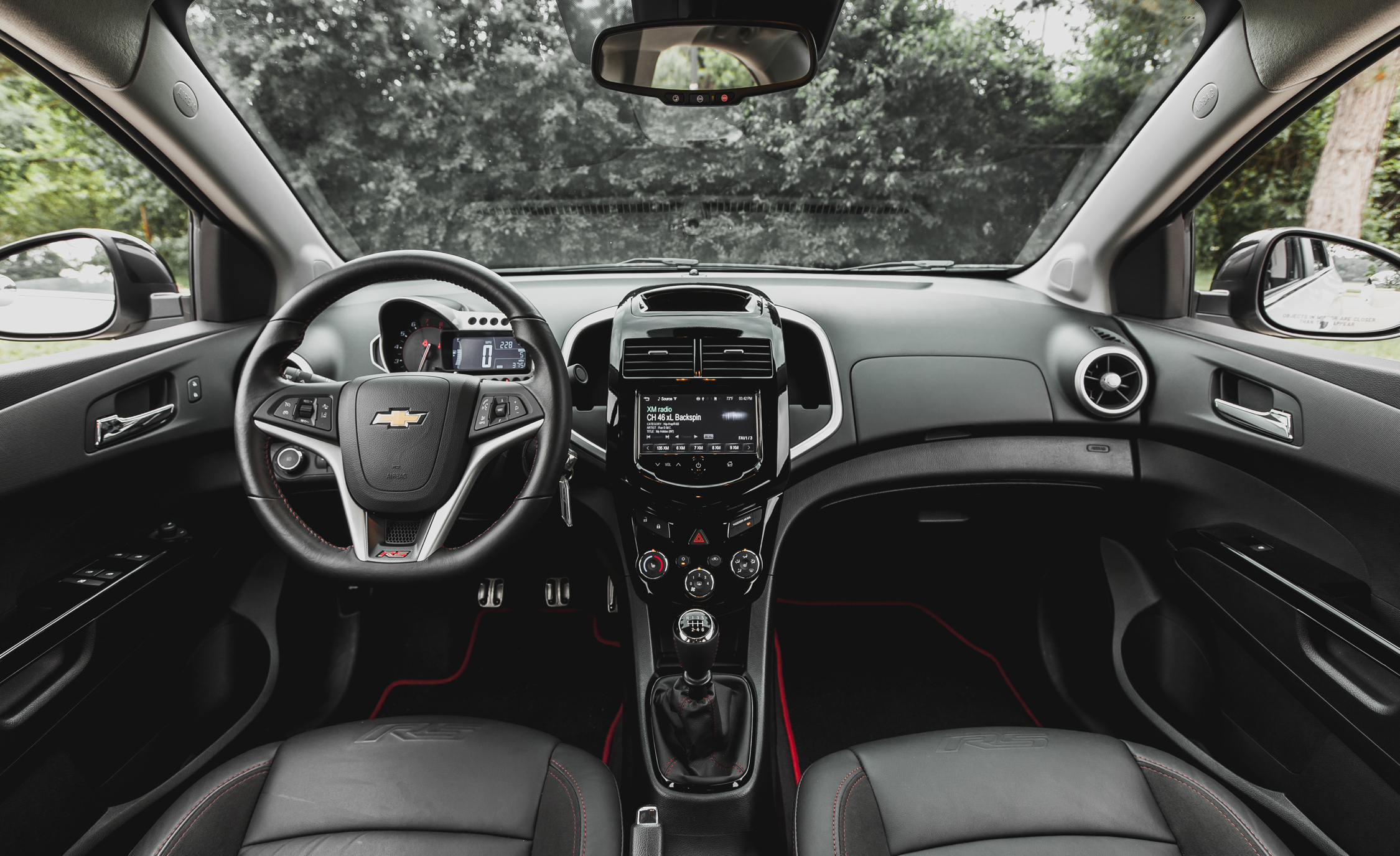 2014 Chevrolet Sonic RS Sedan Interior (Photo 26 of 27)