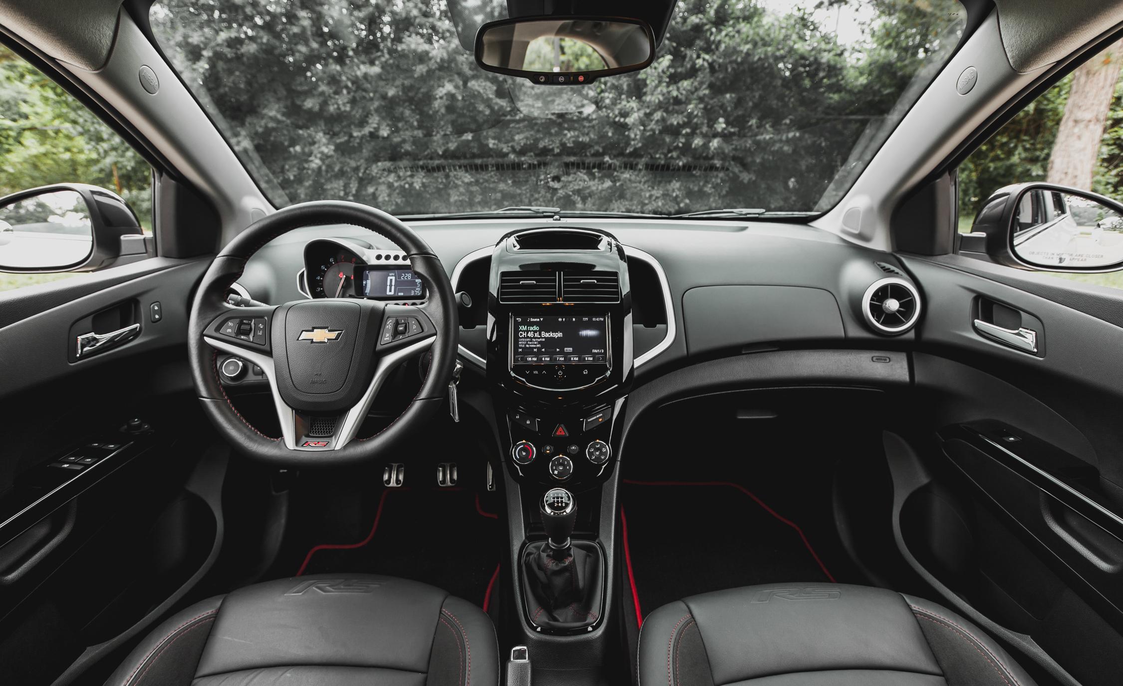 2014 Chevrolet Sonic RS Sedan Interior (View 19 of 27)