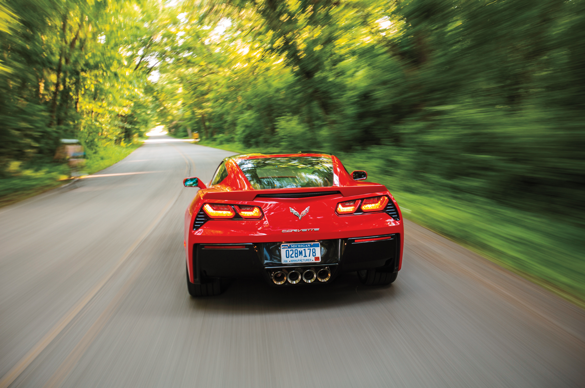 2014 Chevrolet Corvette Stingray Z51 Rear Photo (Photo 5 of 7)