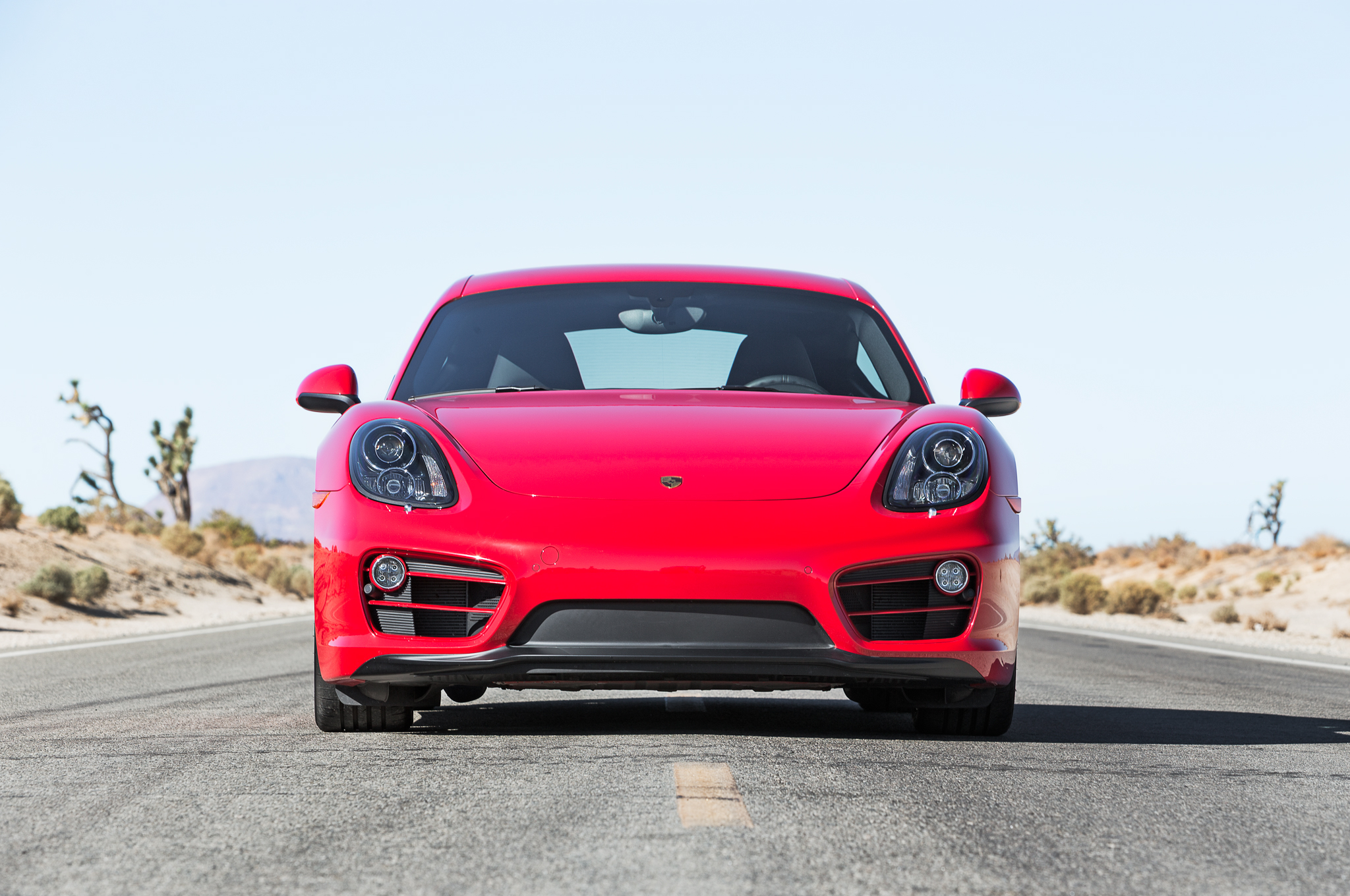2014 Porsche Cayman Front End Photo (View 1 of 8)