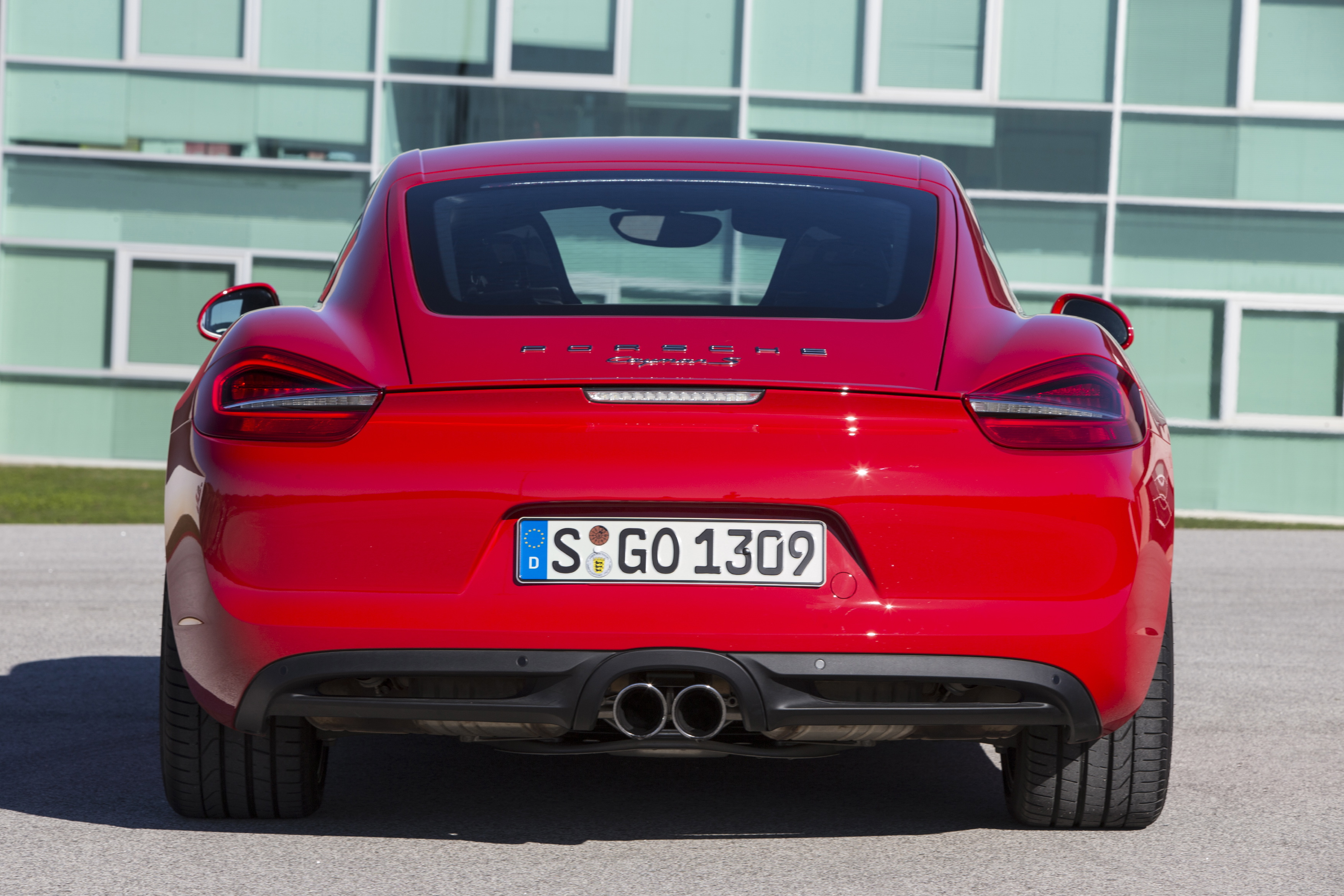 2014 Porsche Cayman Rear Photo (View 3 of 8)