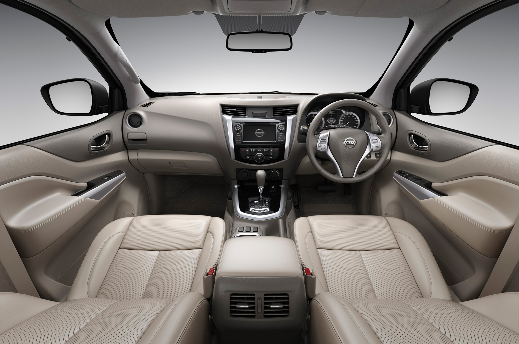 2015 All New Nissan Np300 Navara Interior Dashboard (Photo 4 of 6)