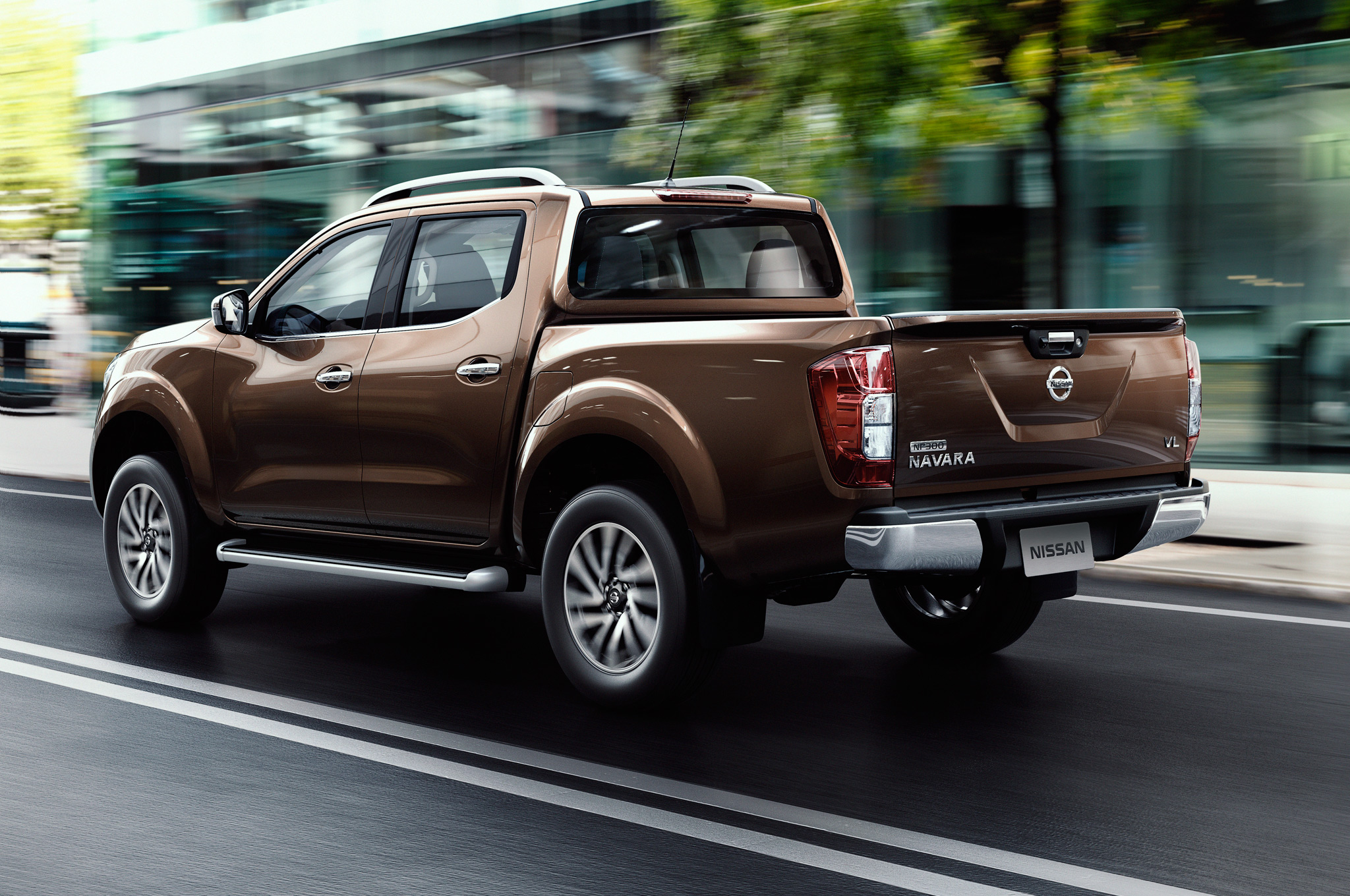 2015 All New Nissan Np300 Navara Rear Side Preview (Photo 6 of 6)