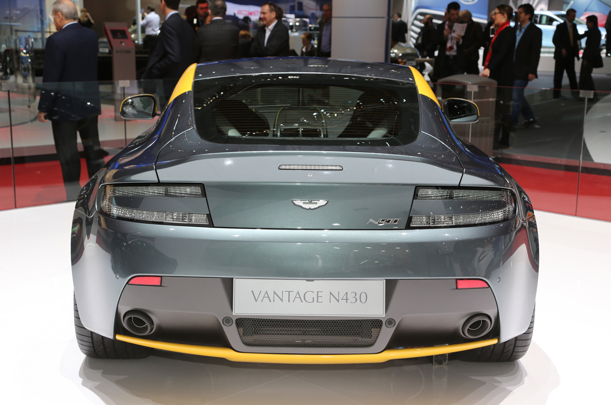 2015 Aston Martin V8 Vantage Gt Rear Design (Photo 4 of 7)
