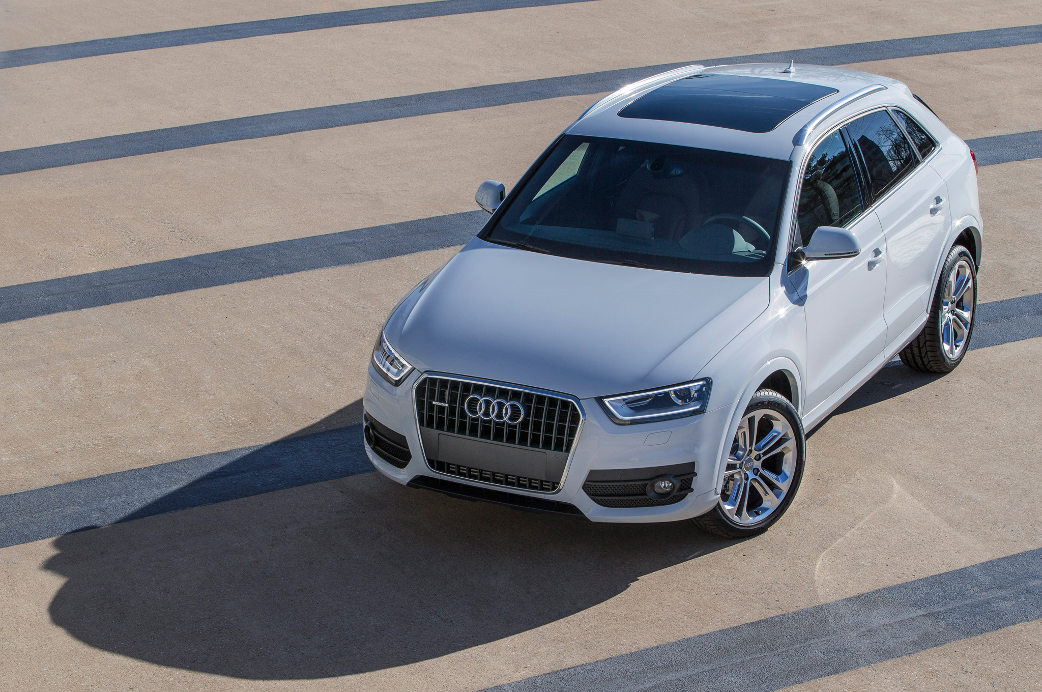2015 Audi Q3 Above View (View 15 of 21)