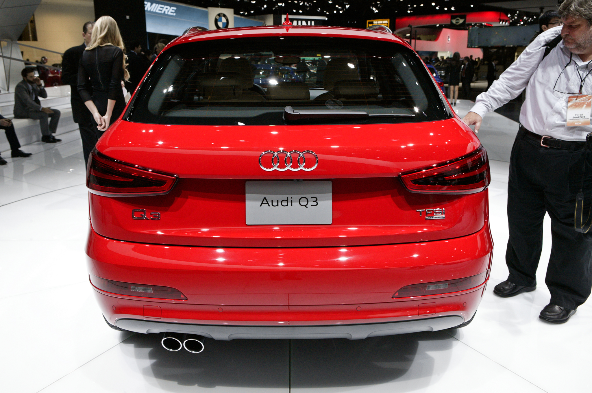 2015 Audi Q3 Rear Lamp (Photo 11 of 21)