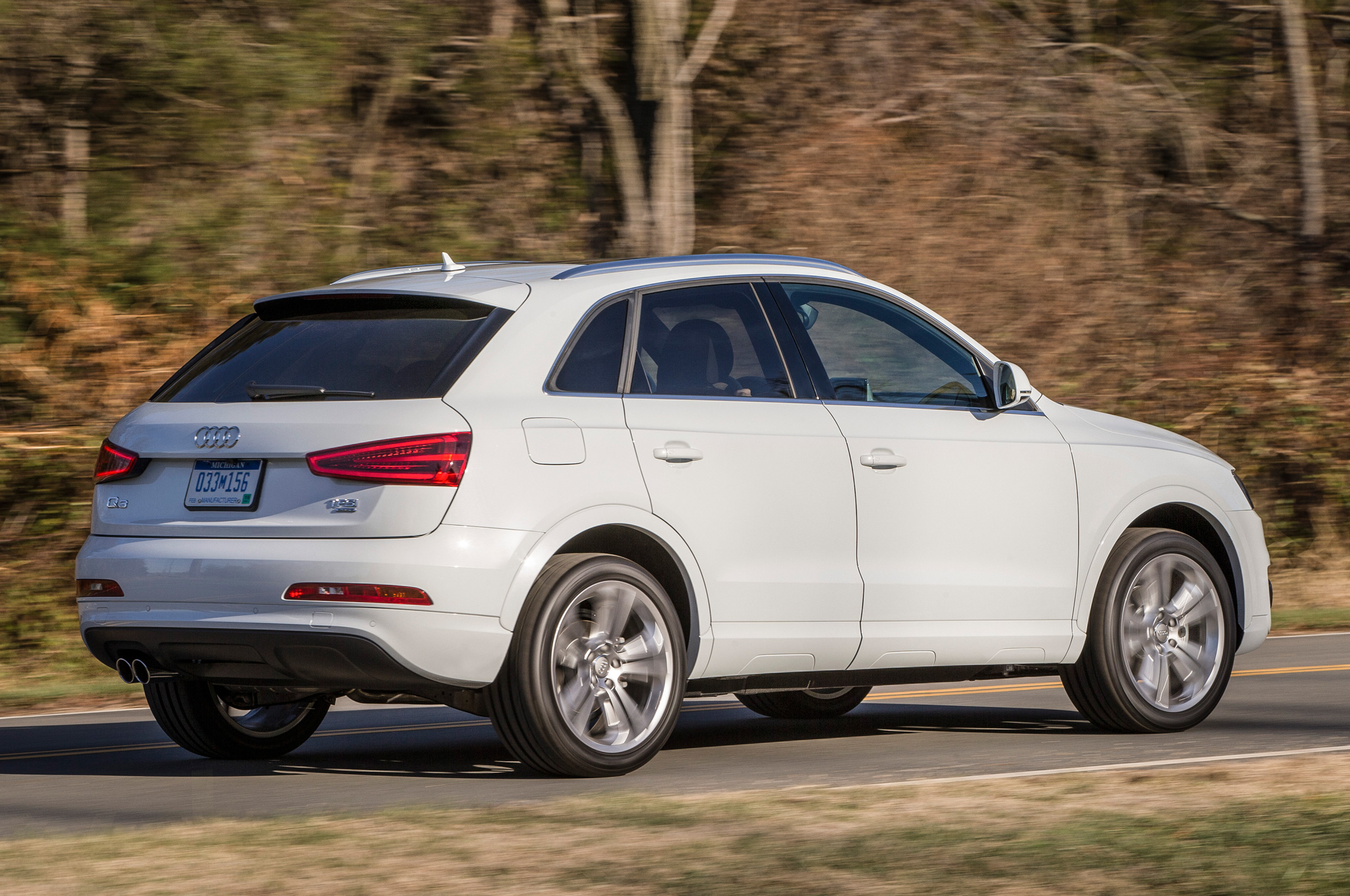 2015 Audi Q3 Rear Side View (Photo 12 of 21)