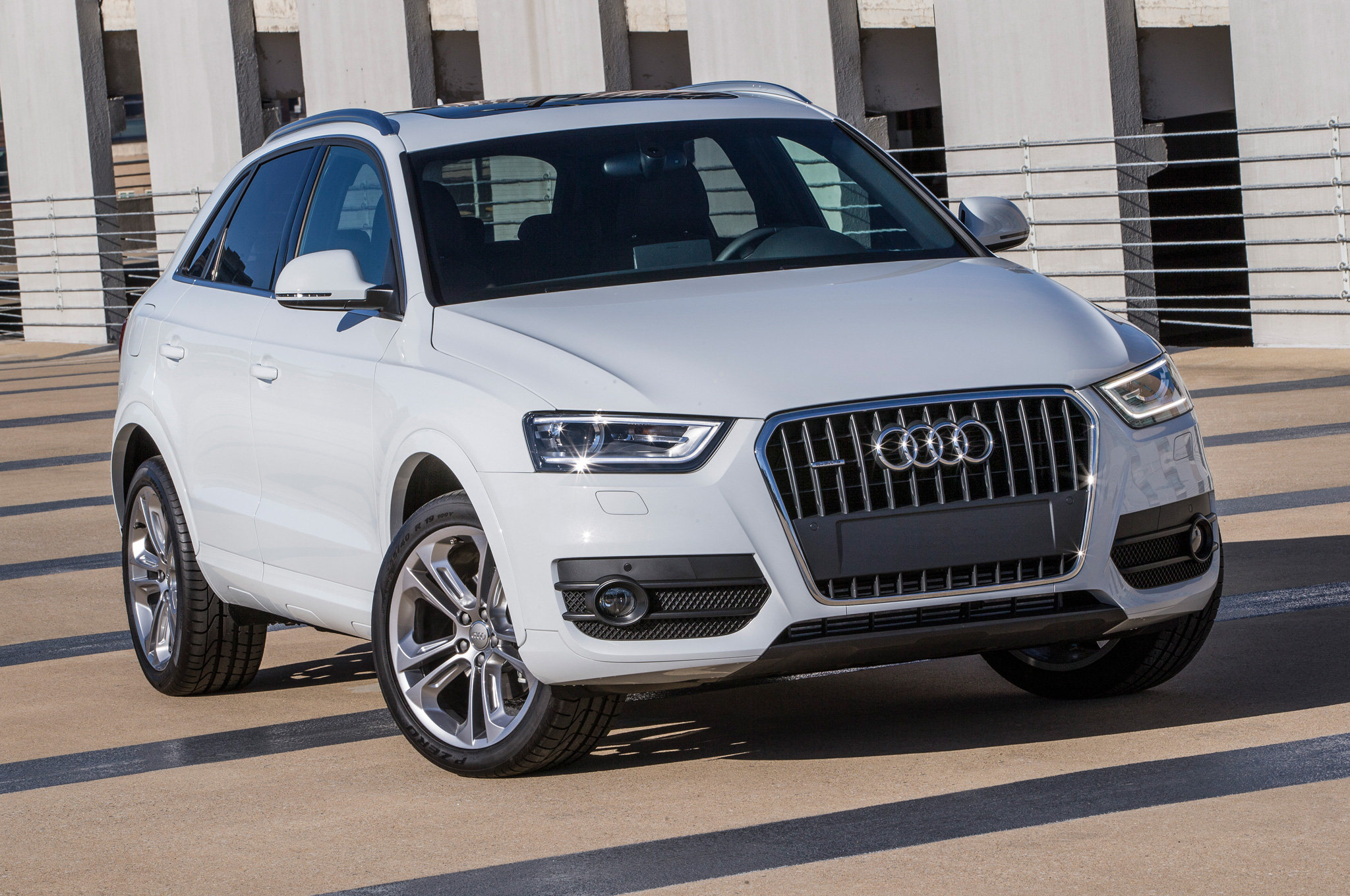 2015 Audi Q3 White Exterior View (View 12 of 21)