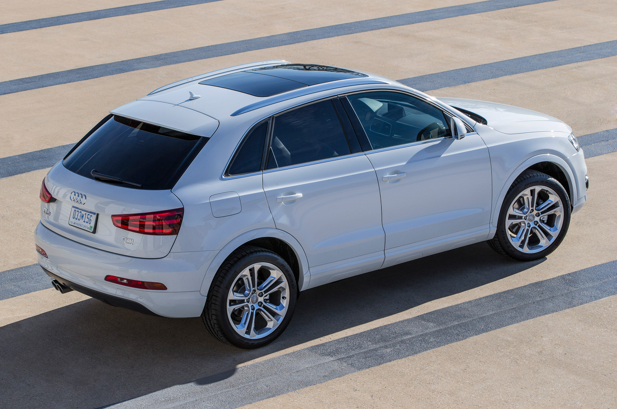 2015 Audi Q3 White Road Test (Photo 21 of 21)