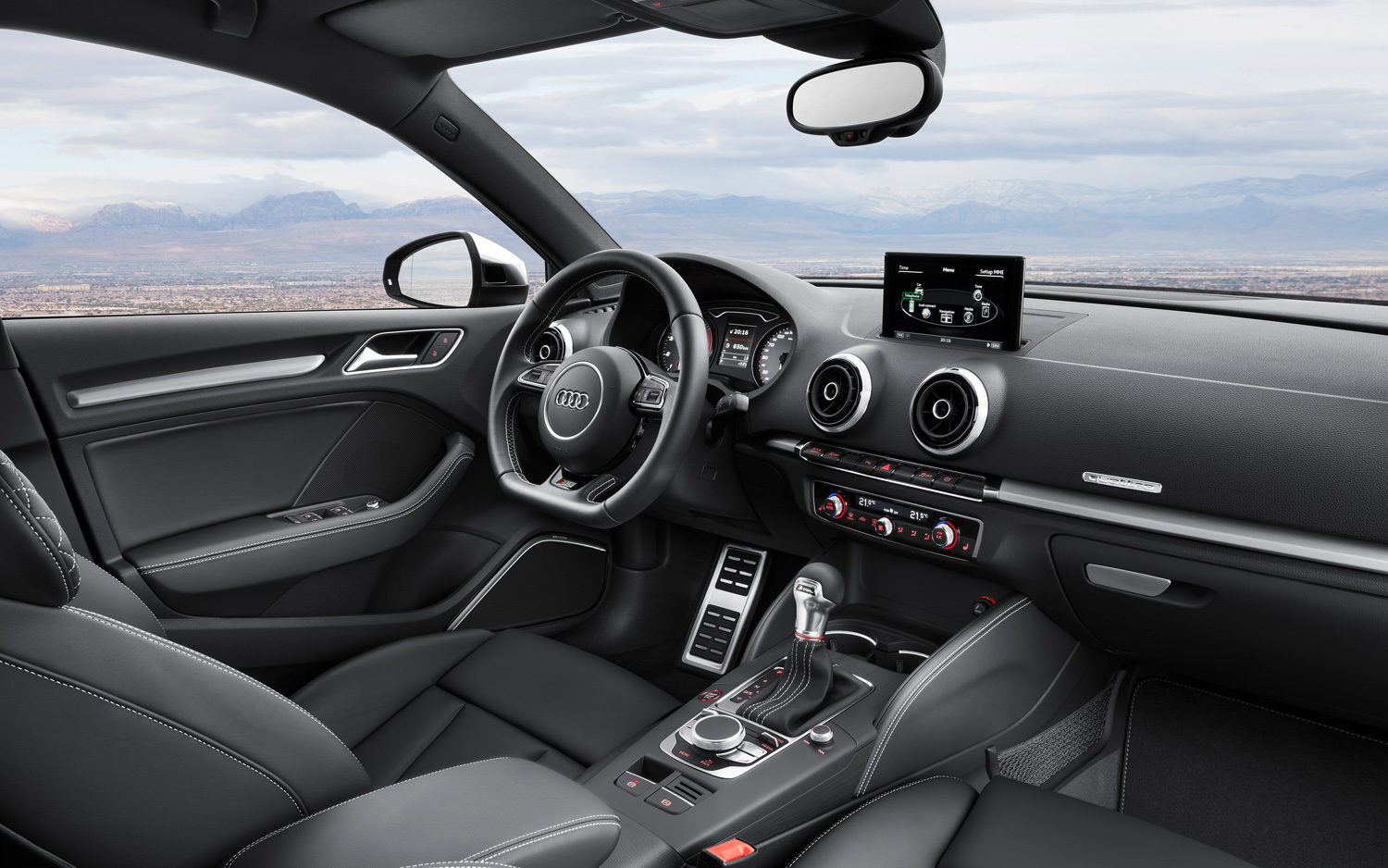 2015 Audi S3 Sedan Front Interior (Photo 5 of 10)