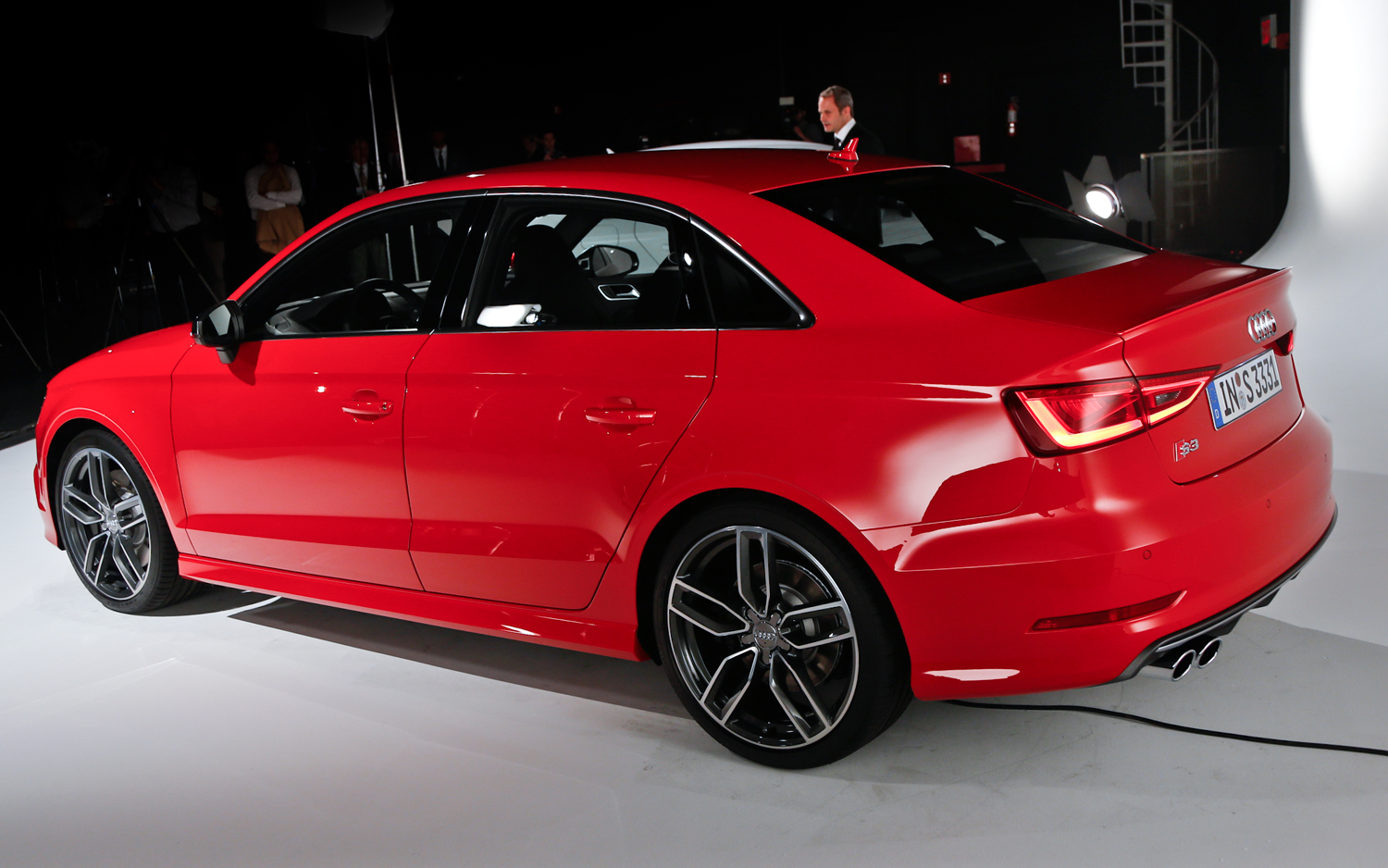 2015 Audi S3 Sedan Rear Side Preview (View 3 of 10)